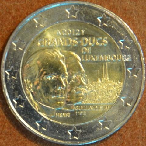 2 Euro Luxembursko 2012 - 100. výročie úmrtia Viliama IV.  (UNC)