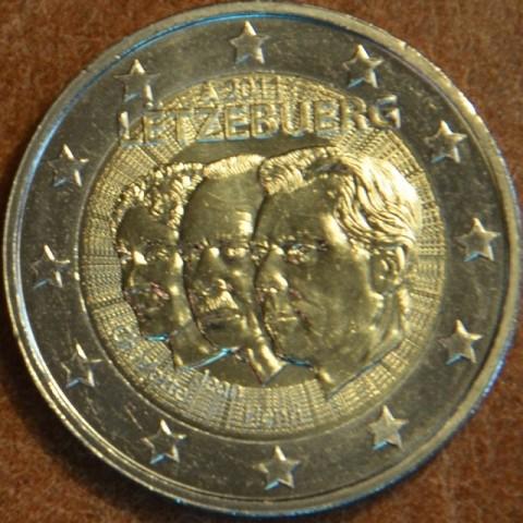 2 Euro Luxembursko 2011 - 50. výročie vymenovania Jeana (UNC)