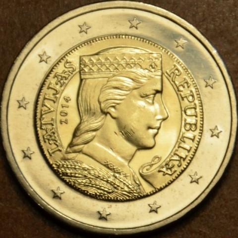2 Euro Lotyšsko 2014 (UNC)