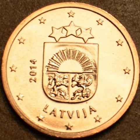 2 cent Lotyšsko 2014 (UNC)