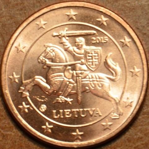 5 cent Litva 2015 (UNC)
