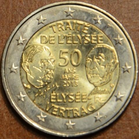 2 Euro Francúzsko 2013 - 50 rokov Elizejskej zmluvy  (UNC)