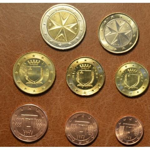 Sada 8 mincí Malta 2008 (UNC)