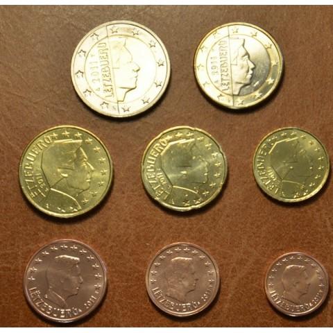 Sada 8 mincí Luxembursko 2011 (UNC)