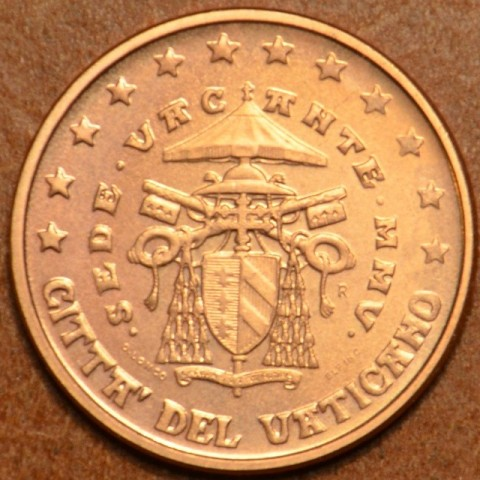 1 cent Vatikán Sede Vacante 2005 (BU)