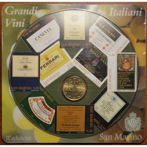 50 cent San Marino 2007 + 10 známok (UNC)
