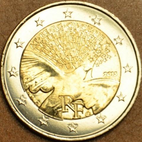 2 Euro Francúzsko 2015 - Mier v Európe (UNC)