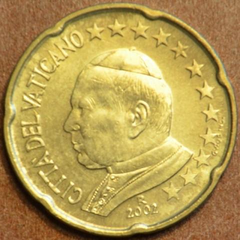 20 cent Vatikán Ján Pavol II 2002 (BU)