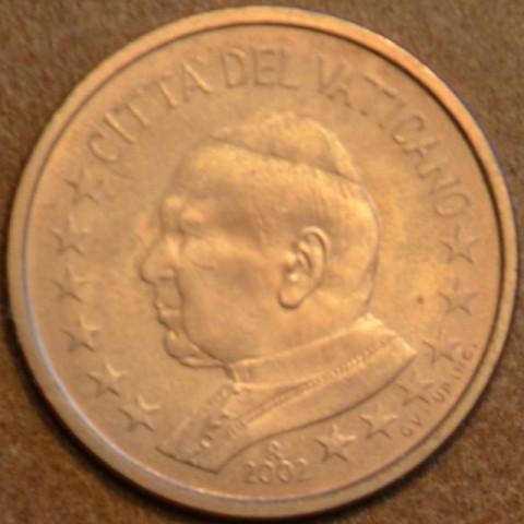5 cent Vatikán Ján Pavol II 2002 (BU)