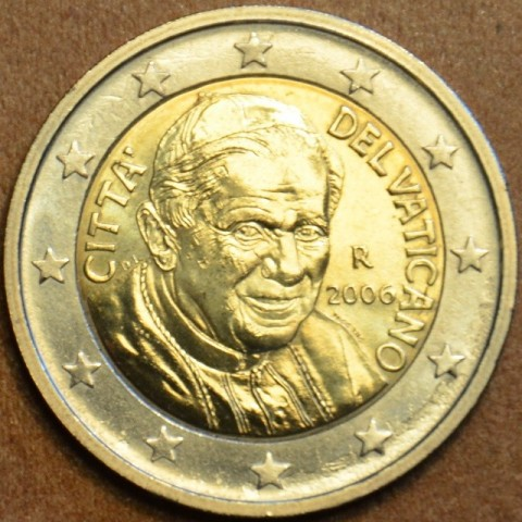 2 Euro Vatikán Benedikt XVI. 2006 (BU)