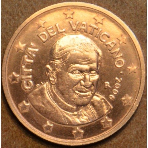 5 cent Vatikán Benedikt XVI. 2006 (BU)
