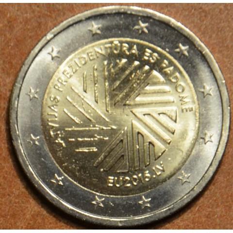 2 Euro Lotyšsko 2015 - Lotyšské predsedníctvo EU (UNC)