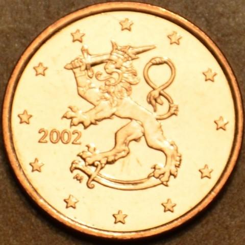 2 cent Fínsko 2002 (UNC)