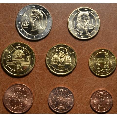 Sada 8 rakúskych mincí 2004 (UNC)
