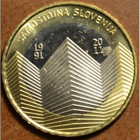 Pamätné minca 3 Euro Slovinsko 2011 (UNC)