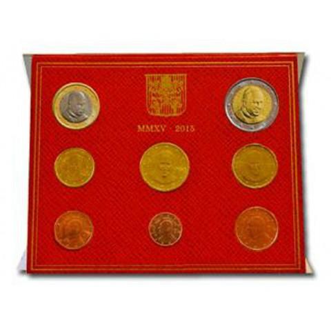 Sada 8 euromincí Vatikan 2015  (BU)