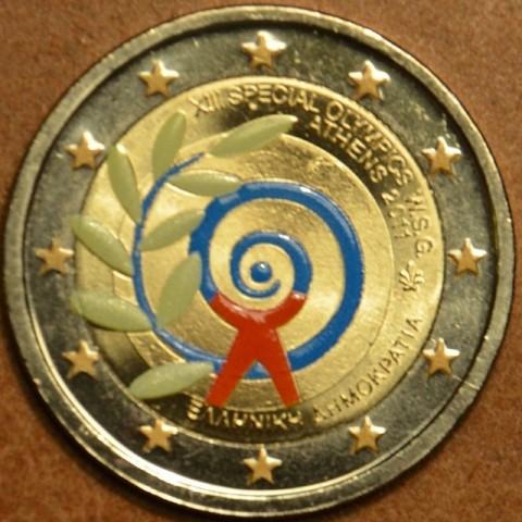 2 Euro Grécko 2011 - Špeciálne letné olympijské hry v Athénach  (farebná UNC)