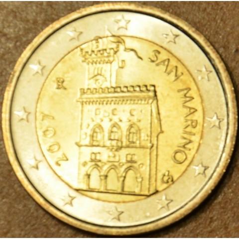 2 Euro San Marino 2007 - Dom vlády (UNC)