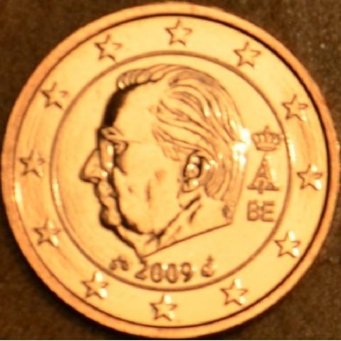 2 cent Belgicko 2009 (BU)
