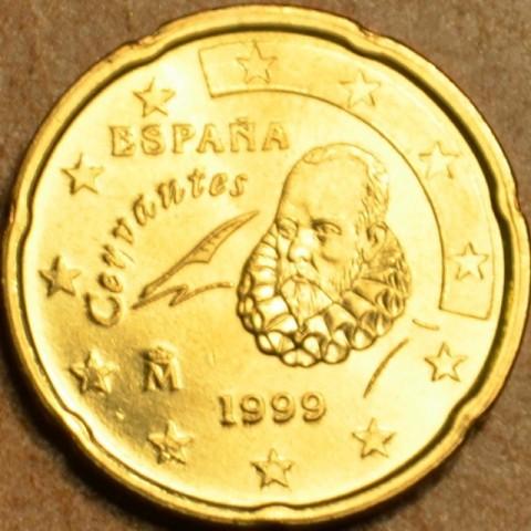 20 cent Španielsko 1999 (UNC)