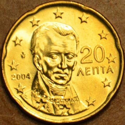 20 cent Grécko 2004 (UNC)