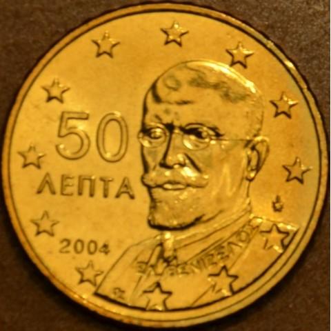 50 cent Grécko 2004 (UNC)