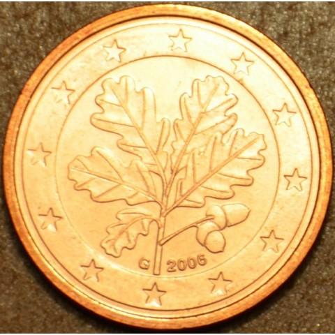 """1 cent Nemecko """"G"""" 2006 (UNC)"""