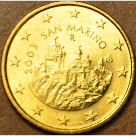 50 cent San Marino 2003 (UNC)