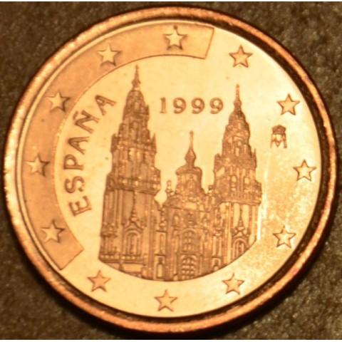 1 cent Španielsko 1999 (UNC)