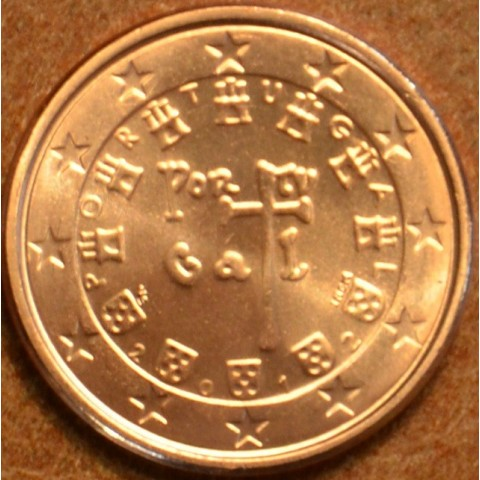 1 cent Portugalsko 2012 (UNC)