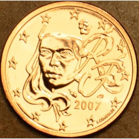1 cent Francúzsko 2007 (UNC)