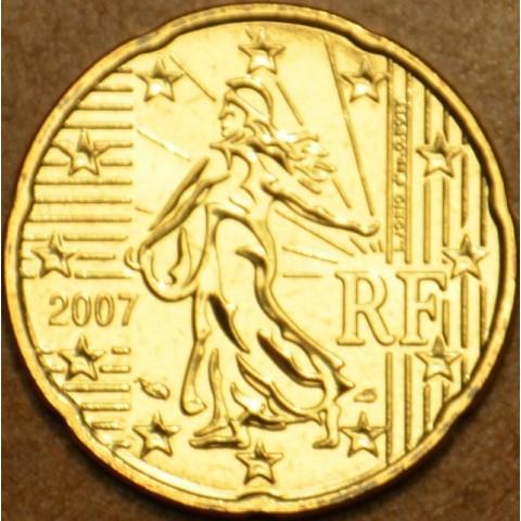 20 cent Francúzsko 2007 (UNC)