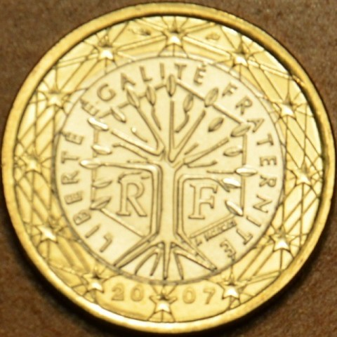 1 Euro Francúzsko 2007 (UNC)