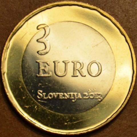 Pamätné minca 3 Euro Slovinsko 2013 (UNC)