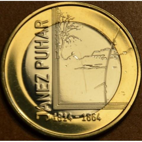 Pamätné minca 3 Euro Slovinsko 2014 (UNC)