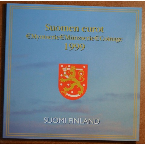 Sada 8 fínskych mincí 1999 (BU)