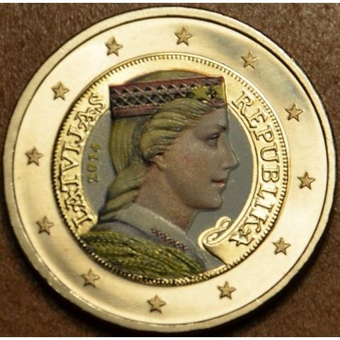 2 Euro Lotyšsko 2014 II.  (farebná UNC)