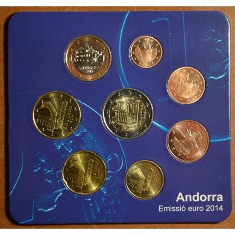 Sada 8 mincí Andorra 2014 (UNC)