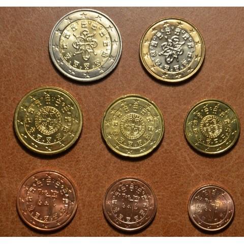 Sada 8 portugalských mincí 2006 (UNC)