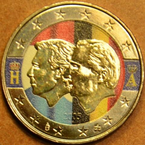 2 Euro Belgicko 2005 - Belgicko-Luxemburská hospodárska únia (farebná UNC)