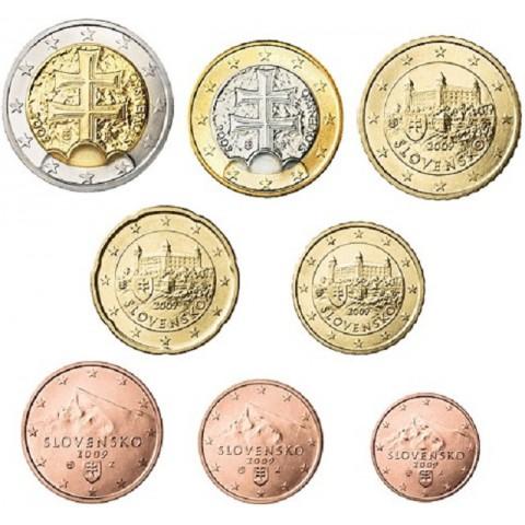 Sada Slovenských mincí 2009 (UNC)