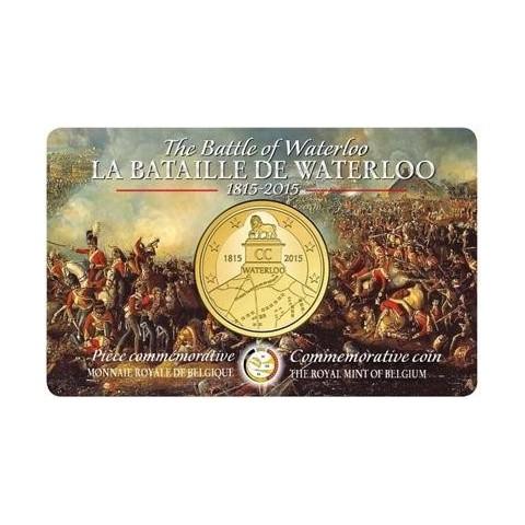 2,5 Euro Belgicko 2015 (BU)