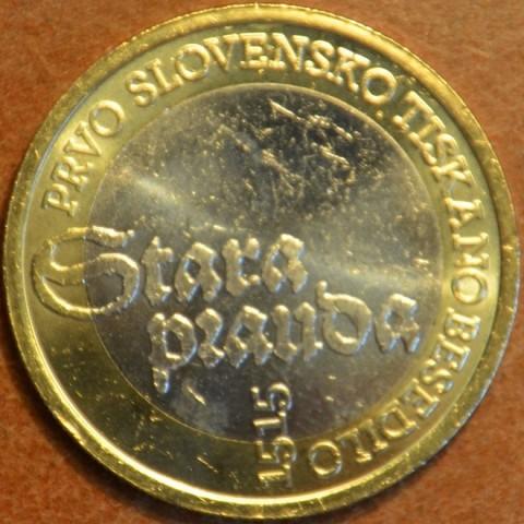 Pamätné minca 3 Euro Slovinsko 2015 (UNC)