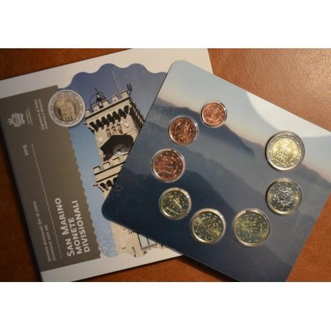 Oficiálna sada 8 mincí San Marino 2015 (BU)