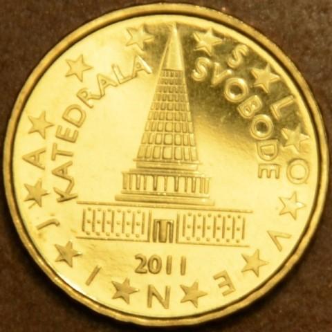 10 cent Slovinsko 2011 (UNC)