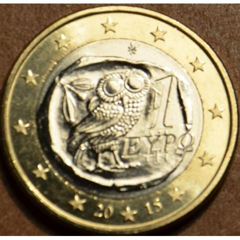 1 Euro Grécko 2015 (UNC)