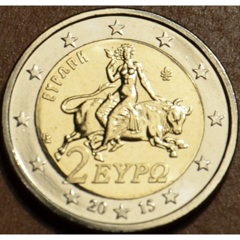 2 Euro Grécko 2015 (UNC)