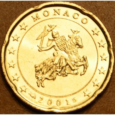 20 cent Monaco 2001 (UNC)