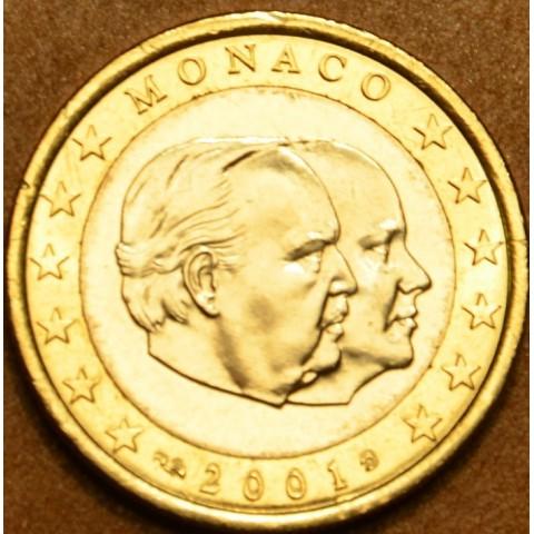 1 Euro Monaco 2001 (UNC)