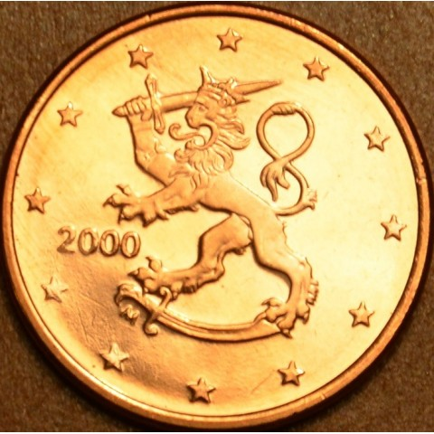 1 cent Fínsko 2000 (UNC)